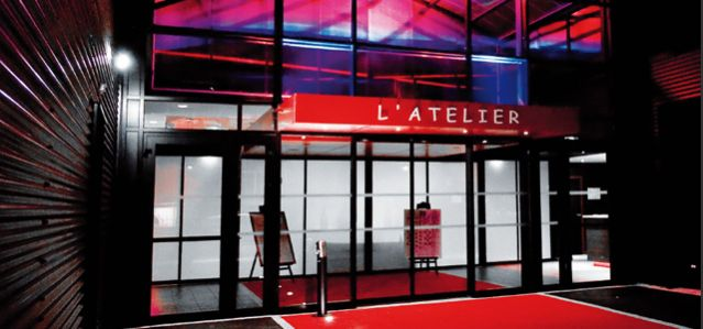 Entrée de L'Atelier - Salle de réception et de séminaire à Brest - Finistère