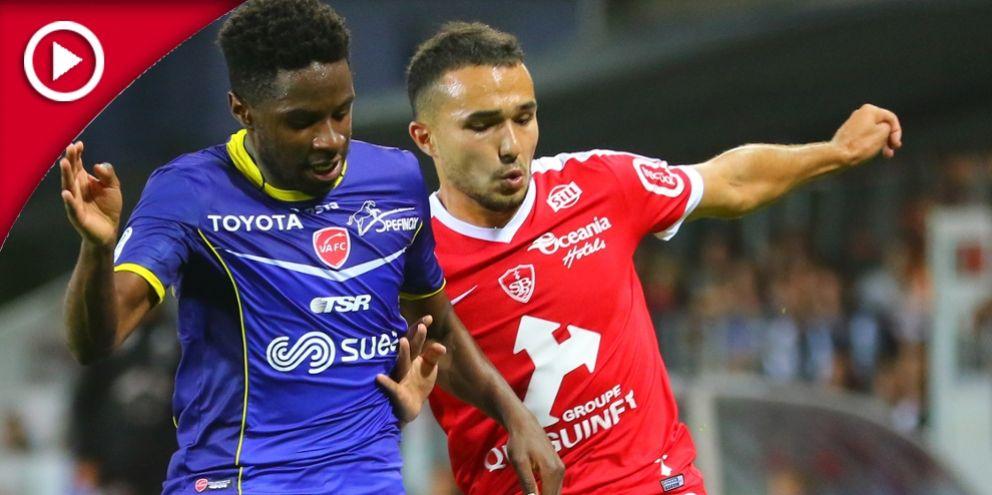 STADE BRESTOIS 3 - 2 VALENCIENNES FC : LE RÉSUMÉ VIDÉO