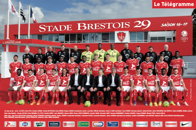 Stade Brestois 29 - Saison 2016-2017